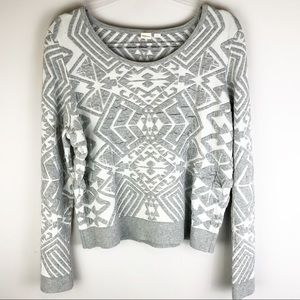 Anthropologie Yellow Bird Textured Sweater Sz XL
